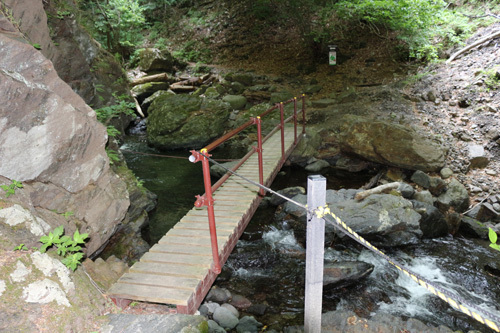 20170611 板敷渓谷二番目の橋