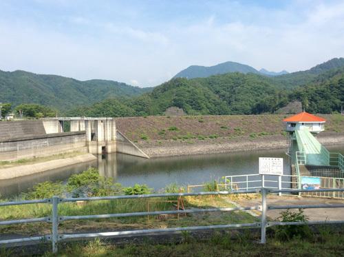 20170709荒川ダム (2)