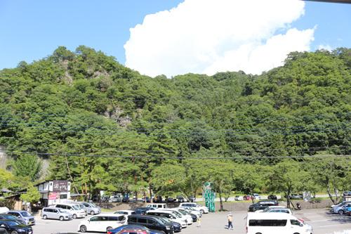 20170910昇仙峡ロープウェイ駐車場