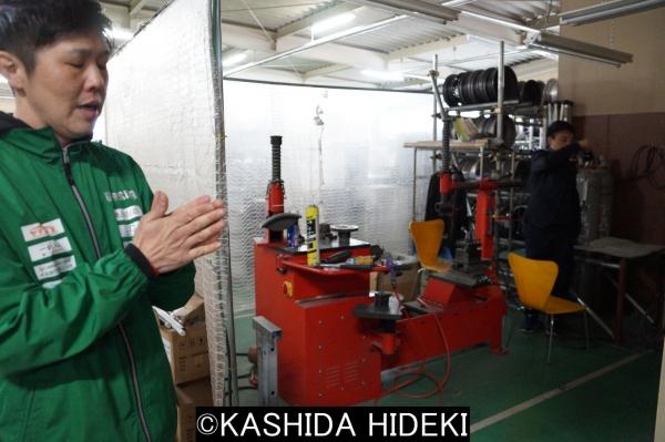 日本で約30台だけ稼働のアルミホイール修理機