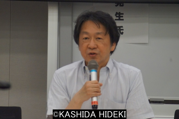 ジャーナリスト斎藤貴男さんの講演