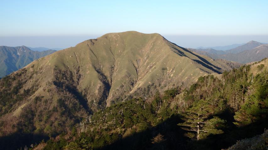 四国で一番美しい山と言われる