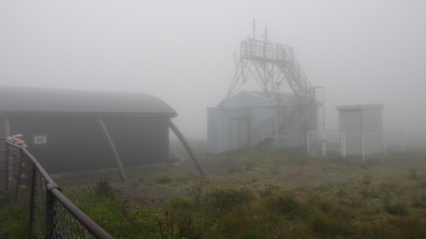 阿波エコトイレと剣山測候所跡