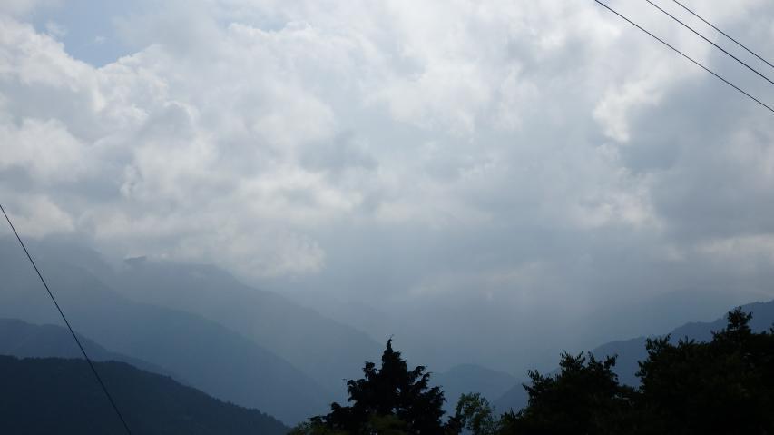 川井峠から剣山方面