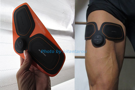 SIXPAD BodyFitでも脚はきたえられますよ