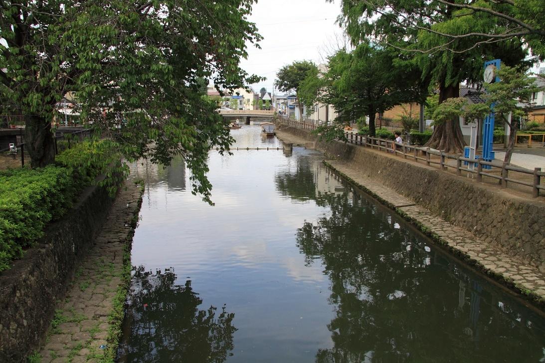 栃木市内の風景