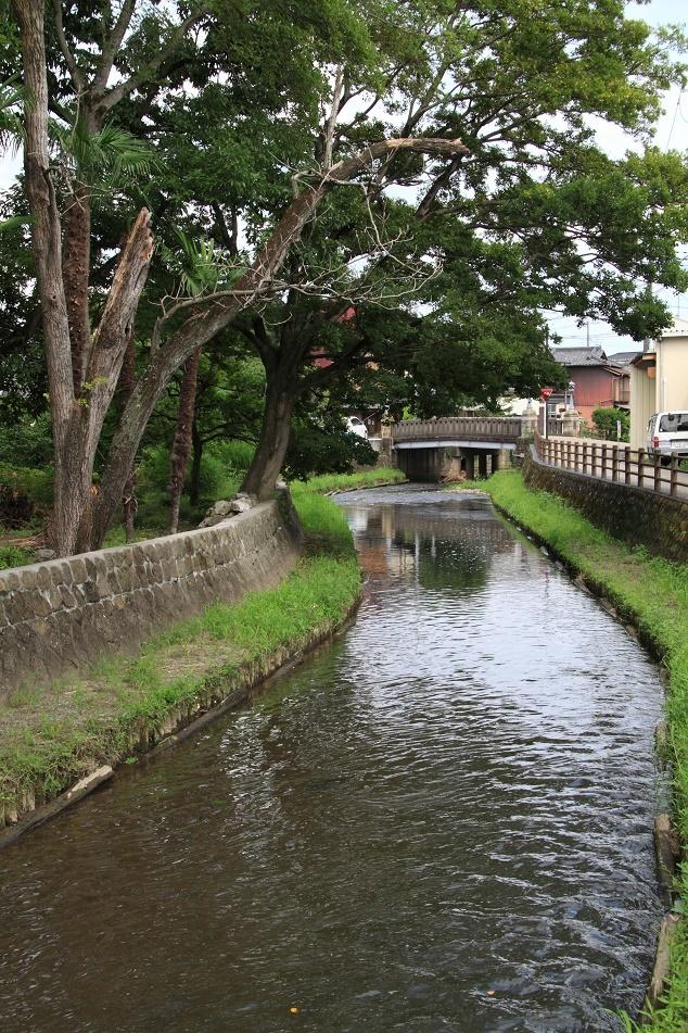 翁島別邸裏の巴波川①