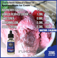 Charlie Noble Admirals Reserve RASPBERRY RIPPLE ICE CREAM