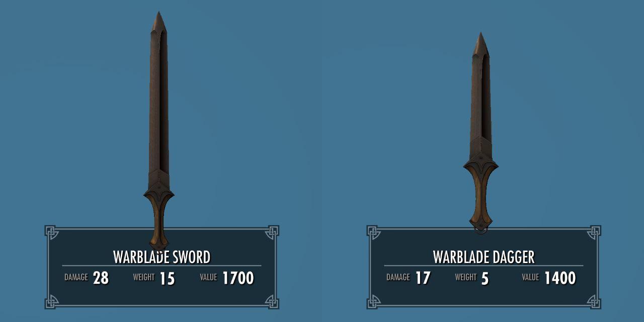 Warblade 011-1 Info Dagger 2