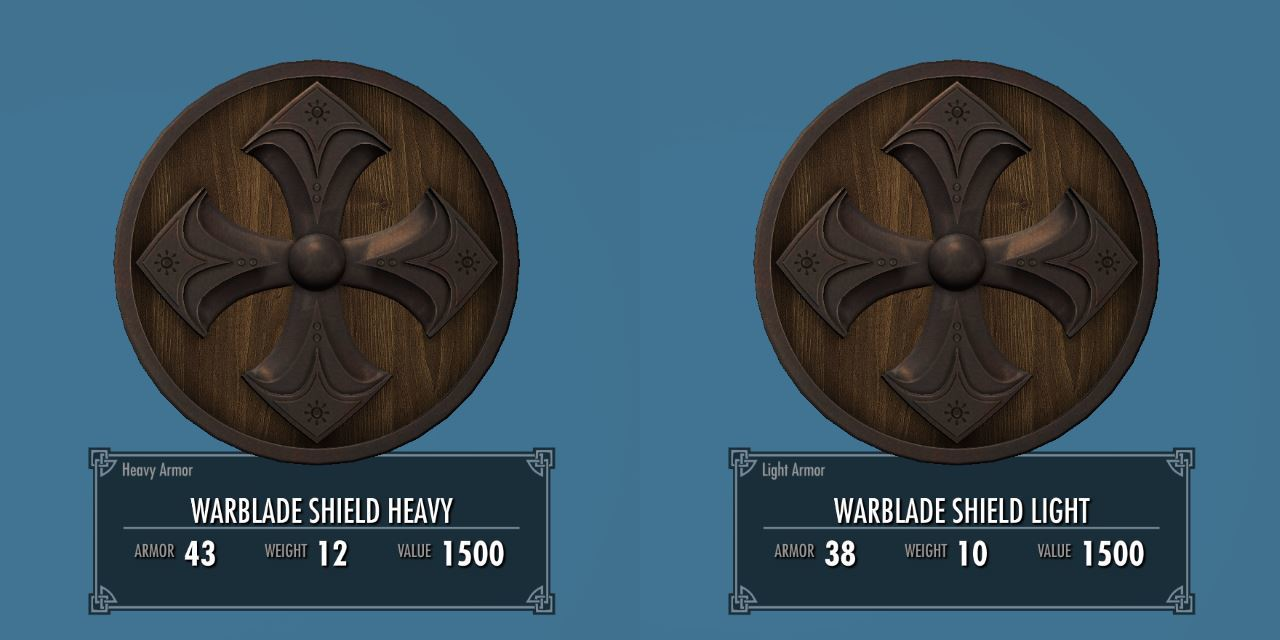 Warblade 013-1 Info Shield L 2