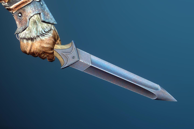 Warblade 042-1 Pose Dagger 1