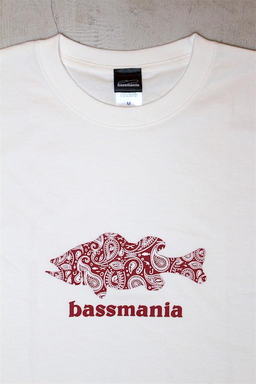 bassmania 別注ペイズリーTee2