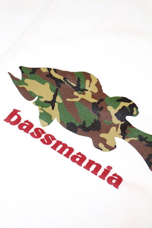 bassmania カモフラシルエットTee4
