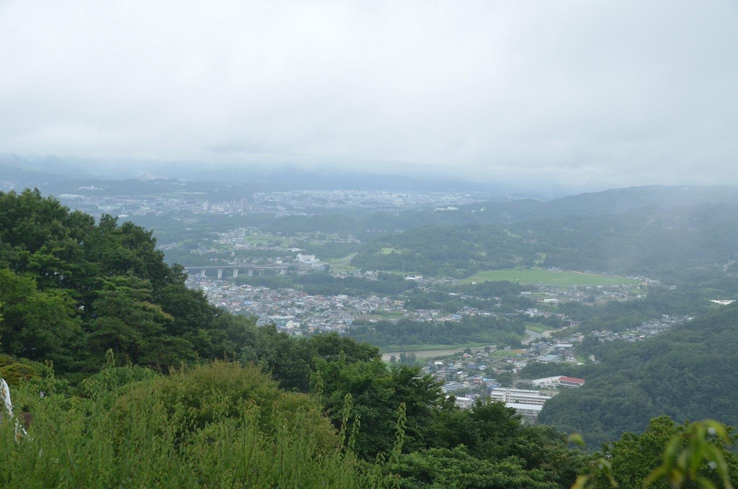 DSC_0113上からの長瀞町