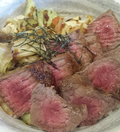 2017-04-16-阿波牛ステーキ丼2(2)