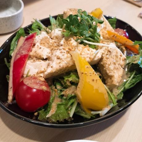 2017-07-30-豆腐サラダ