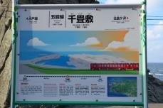 千畳敷駅・駅名標
