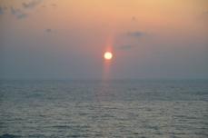 日本海の夕日③
