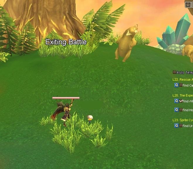 GFUSAブログ用735A3 V系ミグルの森のクエ3熊狩り