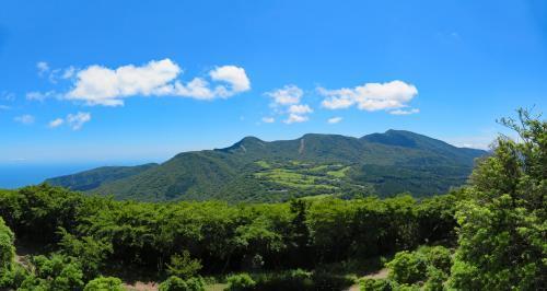 遠笠山山頂から