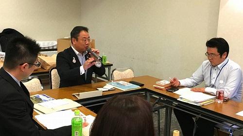 UAゼンセン福田屋百貨店労働組合<役員研修会>!⑥