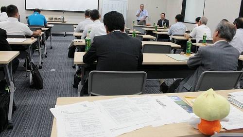 連合栃木議員懇談会 芳賀地域で研修!⑦
