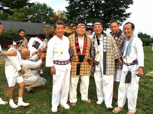 須賀神社<天王祭>!②