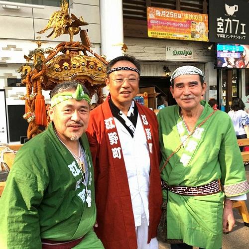 須賀神社<天王祭>!③