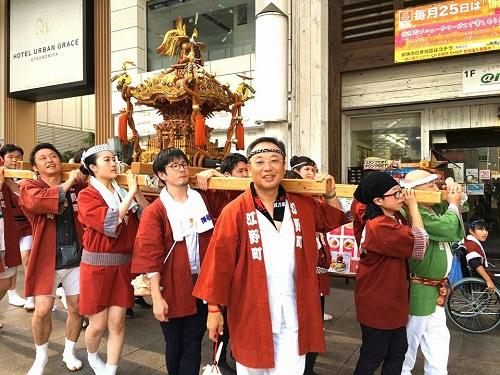 須賀神社<天王祭>!④