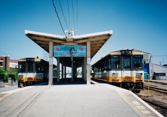 ㉓珠洲駅ホーム