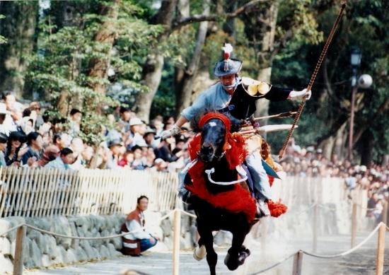 ④鎌倉祭流鏑馬