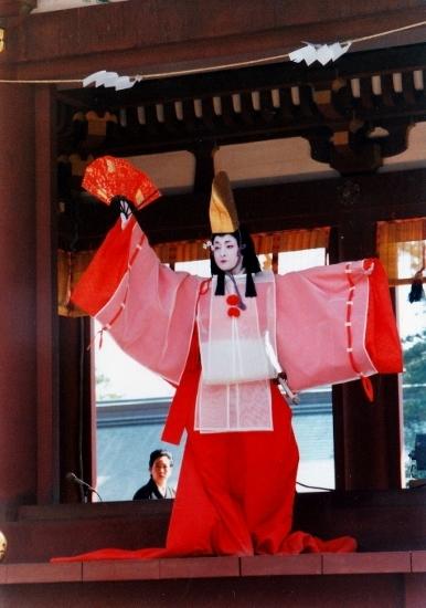 ⑤鎌倉祭静の舞