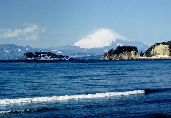 ㉓飯島付近よりの富士