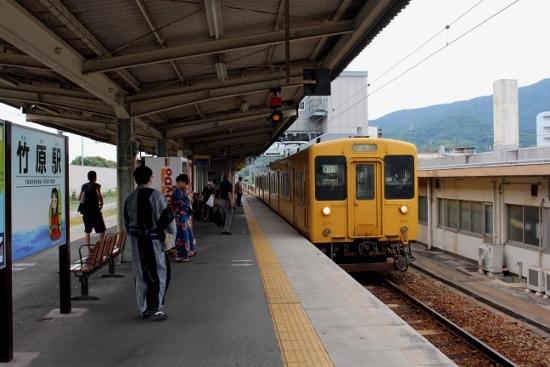 ⑮三原行き上り列車