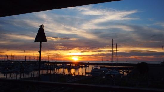 170722_23宜野湾の夕陽