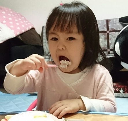 2歳バースデー♪ ⑤