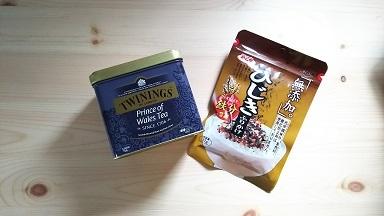紅茶・ふりかけ