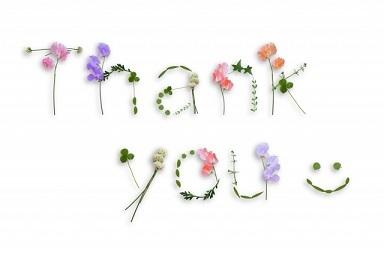 花 ありがとう