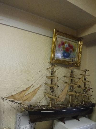 町田船と花