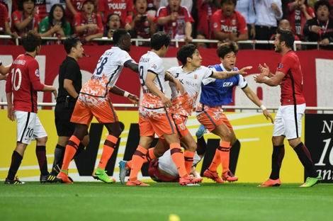サッカー浦和戦で韓国済州が乱闘問題(470x312)