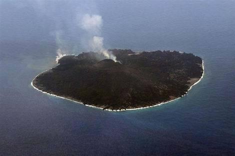 小笠原諸島・西之島 航空写真(470x311)