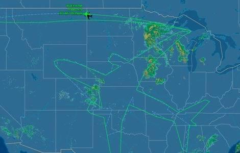 ボーイング、テスト飛行で787型を一筆書き(470x300)