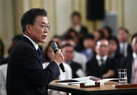 """韓国文大統領が""""タカリ外交""""宣言(470x325)"""