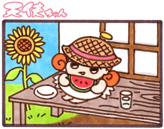 天使ちゃん_夏が楽しみ170618