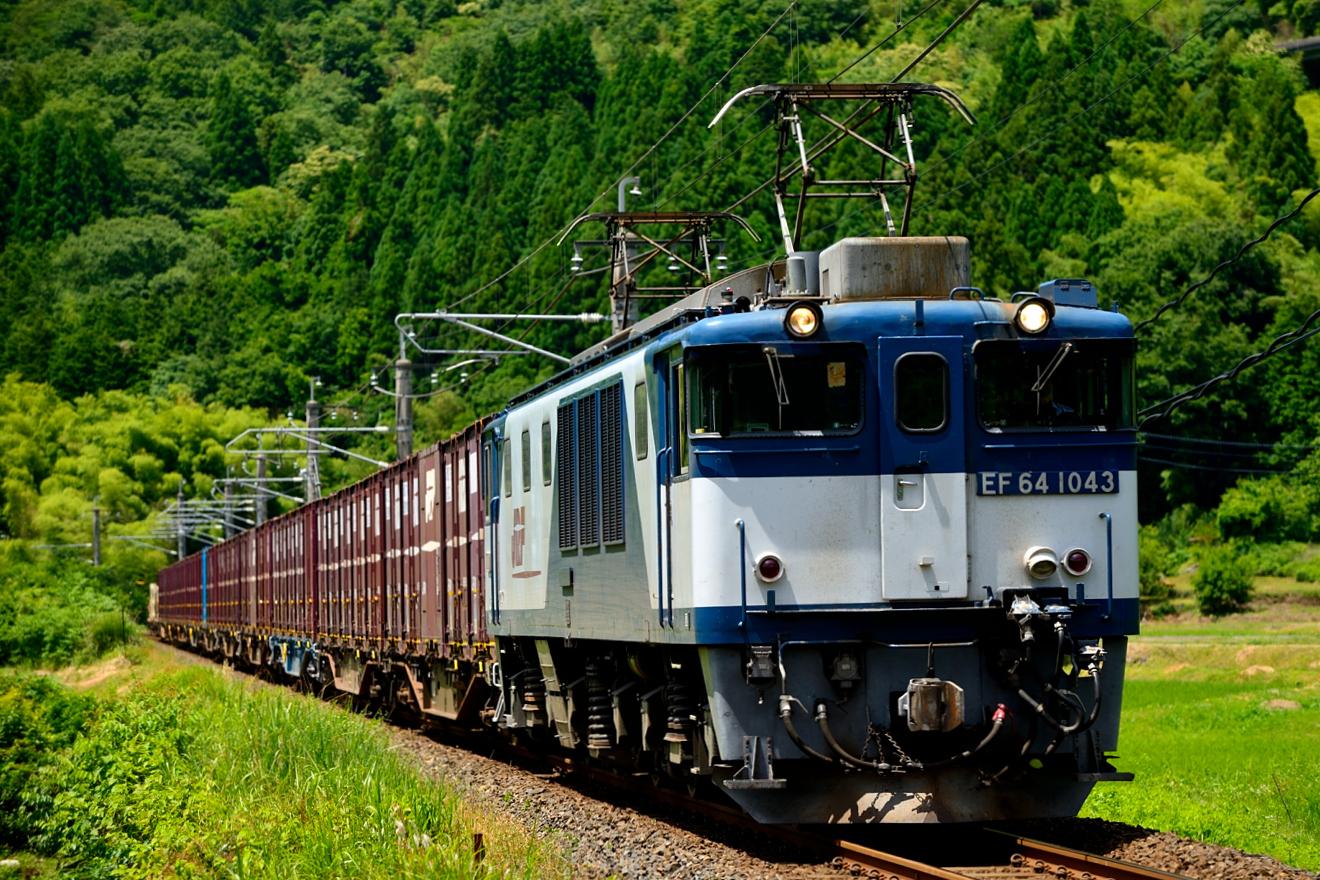EF64-1043(3084・江尾~上溝口信)3447