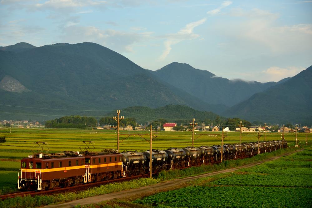 三岐鉄道ED45-8+9(3710・丹生川~三里)0719