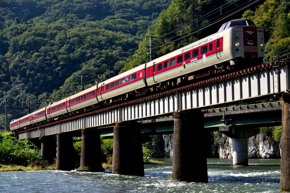 381系(1005М・井倉~方谷)4370