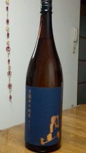 吉田酒造月山芳醇辛口瓶姿