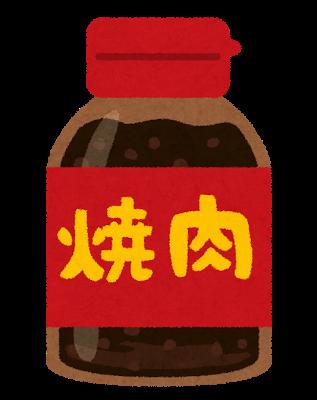 焼肉、タレ