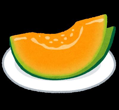 フルーツ、メロン